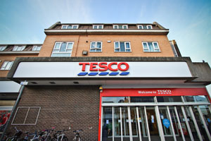 Tesco staff told not to approach beggars