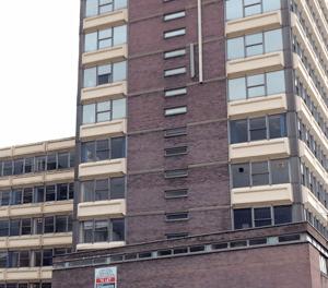 Plans to convert empty office block