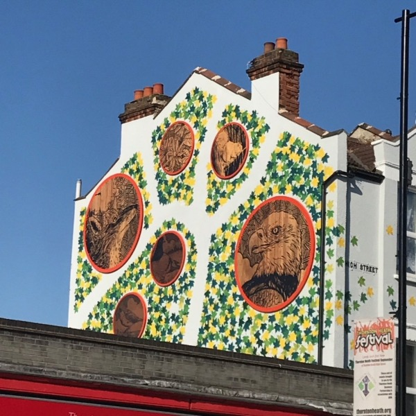 MURAL SET TO BE FLY AWAY SUCCESS