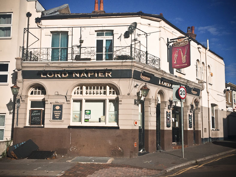 PLANS TO REDEVELOP LORD NAPIER PUB