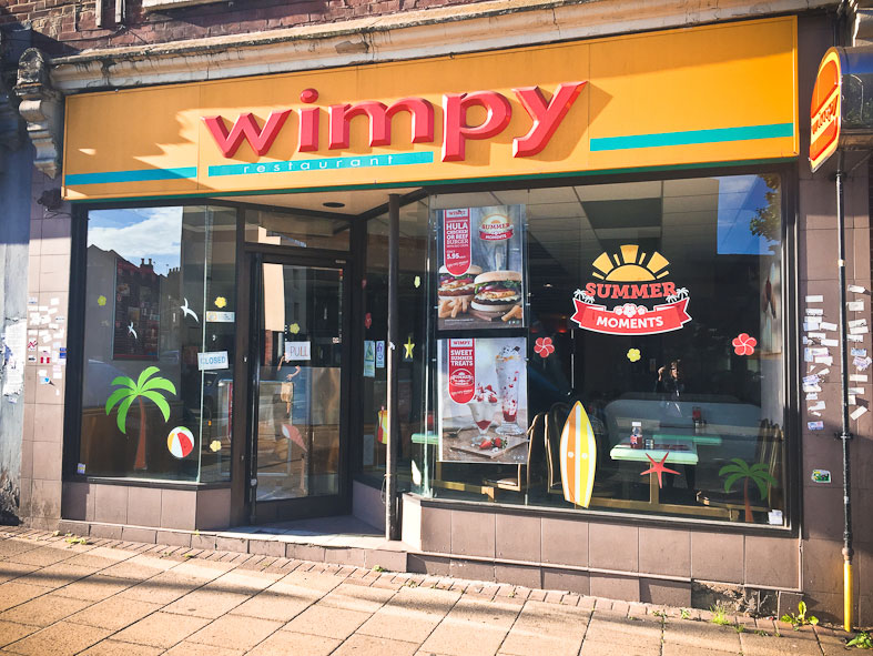 FOR MANY WIMPY IS AN INSTITUTION