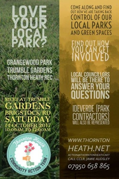 JOIN THE PARKS DEBATE