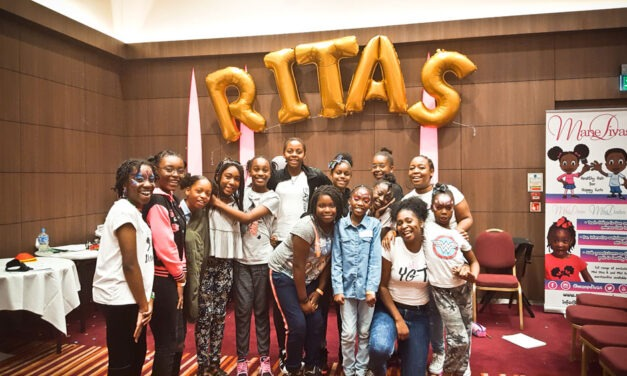 HELPING YOUNG  GIRLS THRIVE