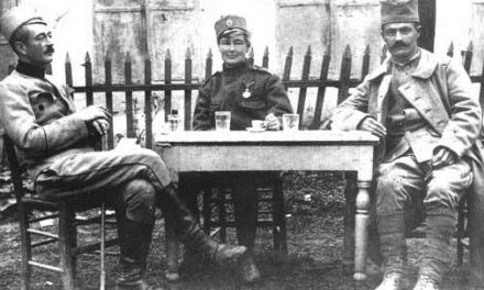 LIFE ON THE BATTLEFIELDS TOLD BY OUR FLORA SANDES