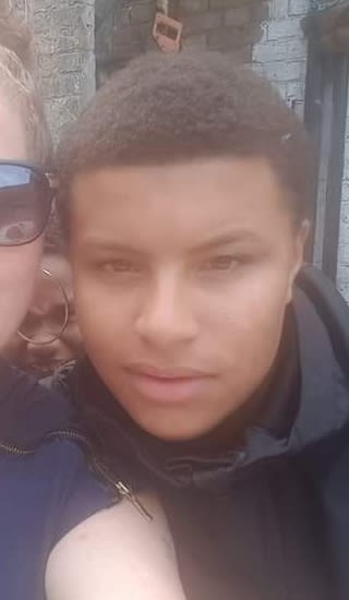 MURDERED TEEN WAS ARMED WITH A KNIFE