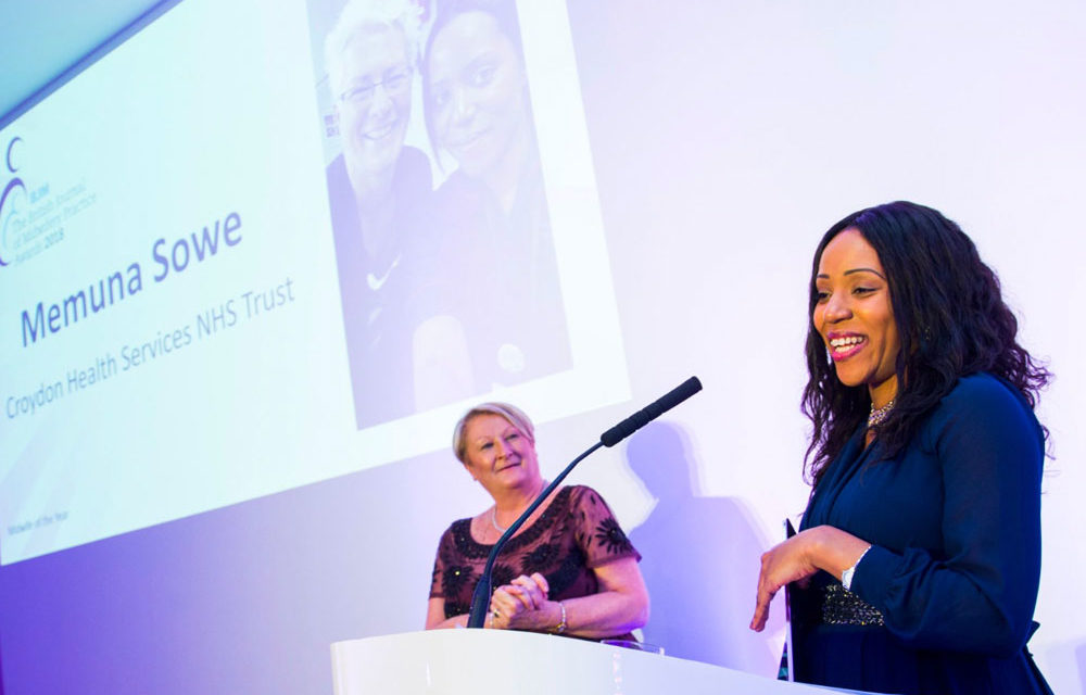 MIDWIFE RECOGNISED NATIONALLY