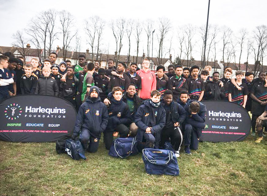 PROJECT AIMS TO ENCOURAGE FRESH TALENT IN TO RUGBY