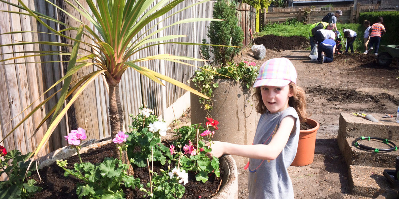 TRUMBLE GARDENS COMES TO LIFE AFTER SPRING CLEAN