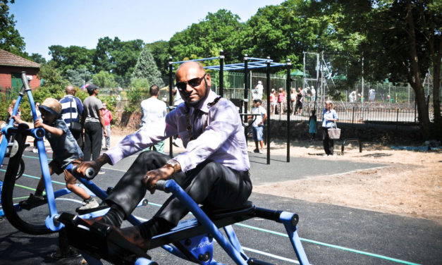 OUTDOOR GYM UNVEILED