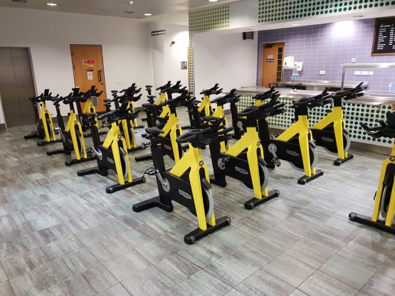 SCREENS TO PROTECT LEISURE CENTRE STAFF