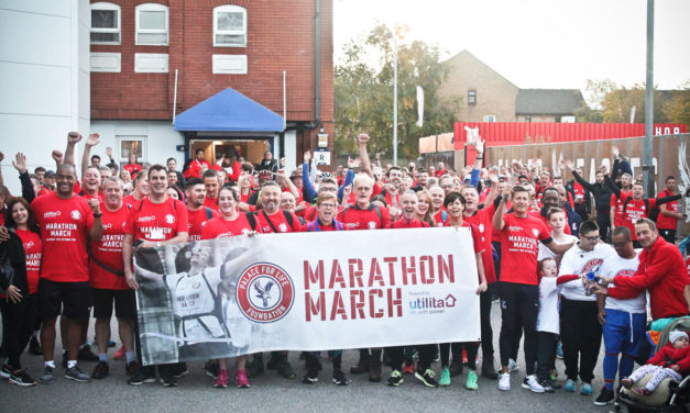 RED BLUE ARMY MARCH FOR CHARITY