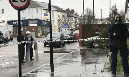 POLICE IN FIVE HOUR STAND OFF IN THORNTON HEATH