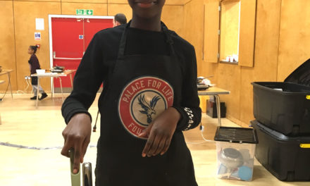 Local youngsters learn how to cook like a pro