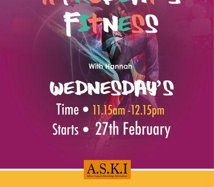 Afrobeat's fitness class