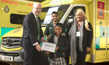 Girl praised for 999 call that saved mum's life