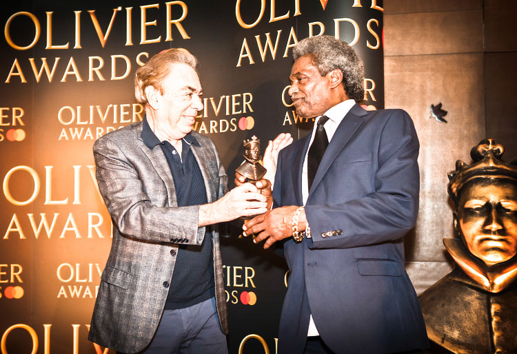 Thornton Heath's 'Mr Spotlight' awarded Olivier