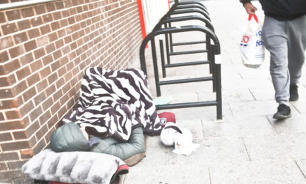 Homeless soldier given a lifeline