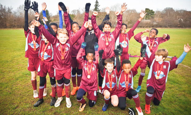 Double success for junior Rams in cup run