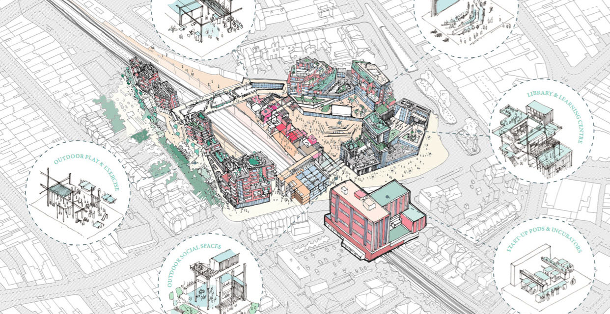 Student architects winning redesign of Thornton Heath