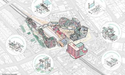 Student architects winning redesign of Thornton Heath