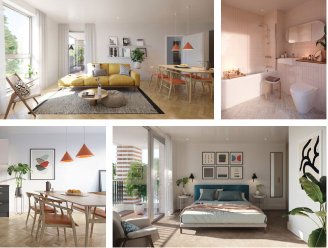 Stylish 'affordable' living for first time buyers