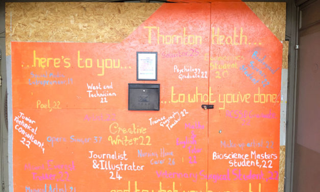 Mural celebrates young people of Thornton Heath