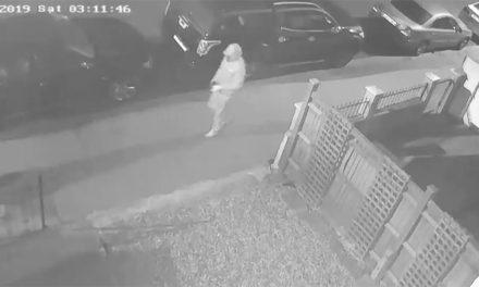 Hunt for man captured on CCTV