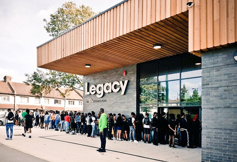 Legacy Youth Zone Set to Harness Potential of Croydon's Young People