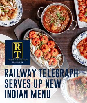 Railway serves up top Indian cuisine at Thornton Heath pub