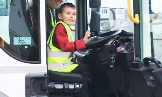 Binmen fix it for four-year-old Zachary