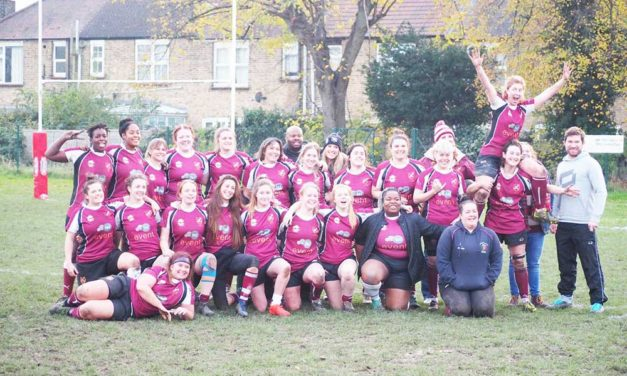 Rugby ladies aiming for 2020 league victory