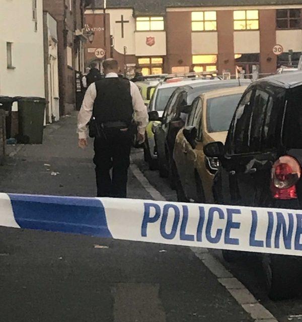 Arrest after Knife Fight