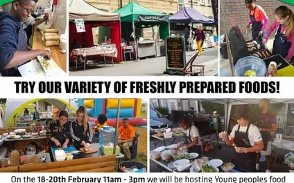 Young people's market: 18-20 February