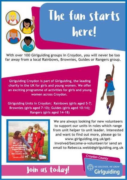 Girlguiding in Croydon