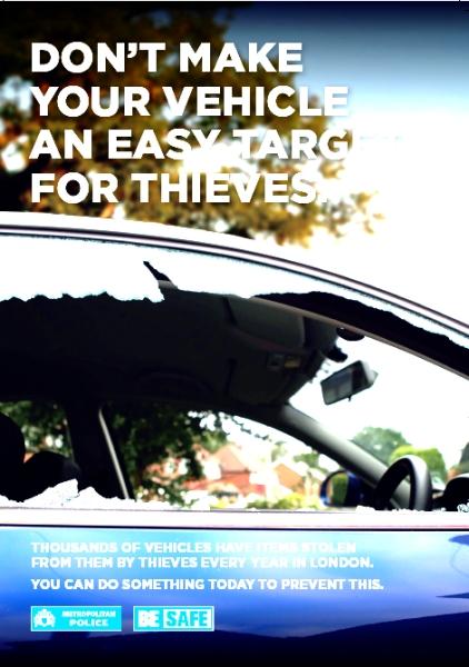 Decoys to trap car criminals