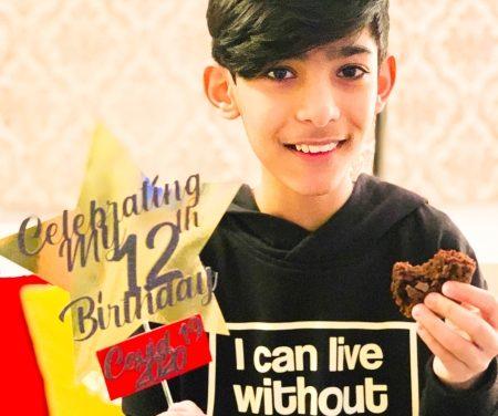 HAPPY BIRTHDAY TO YOU..SHAHZAIB AGED 12