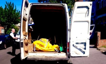 Council officer tracks down flytipper