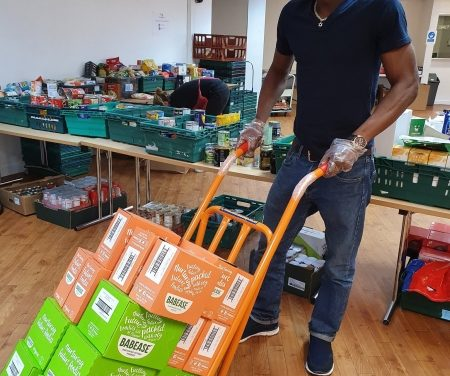 Volunteer army leading community charge needy