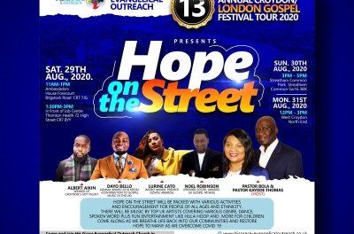 Gospel comes to the streets of Thornton Heath