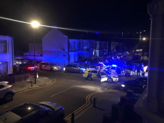 Police pursue drug suspect