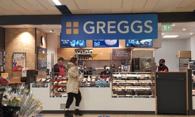 Greggs Opens in Tesco