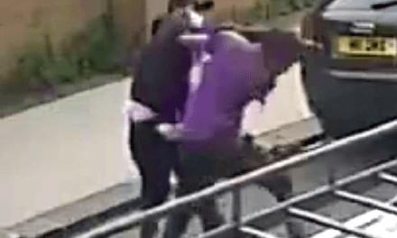 Hunt for Evil Acid Attacker who Blinded Teenage Refugee