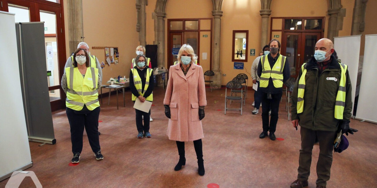 HRH Camilla Praises Thornton Heath's Vaccine Heroes