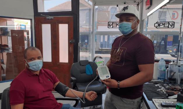 Barbers Train to Test Blood Pressure
