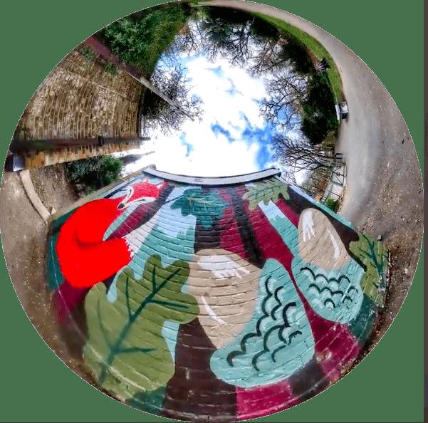 Birds Eye View of Thornton Heath Art