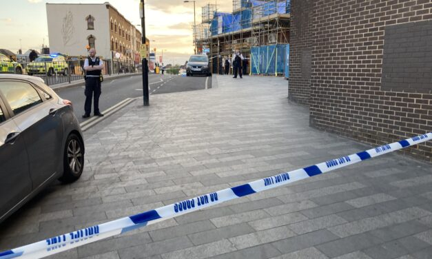 Stabbing at Thornton Heath Station