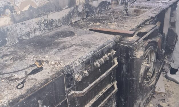 Family Lose Everything in Devastating Fire