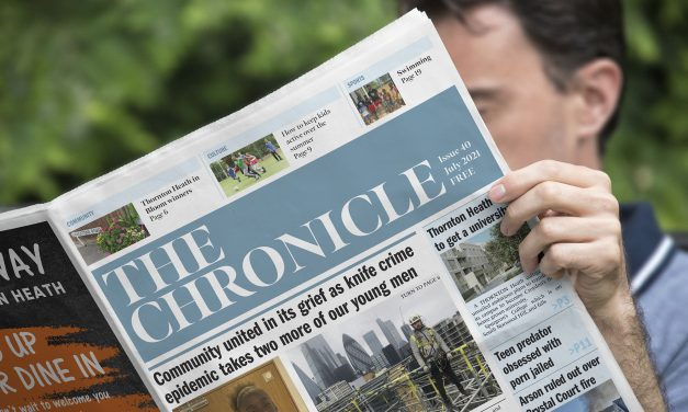 July's edition of The Chronicle