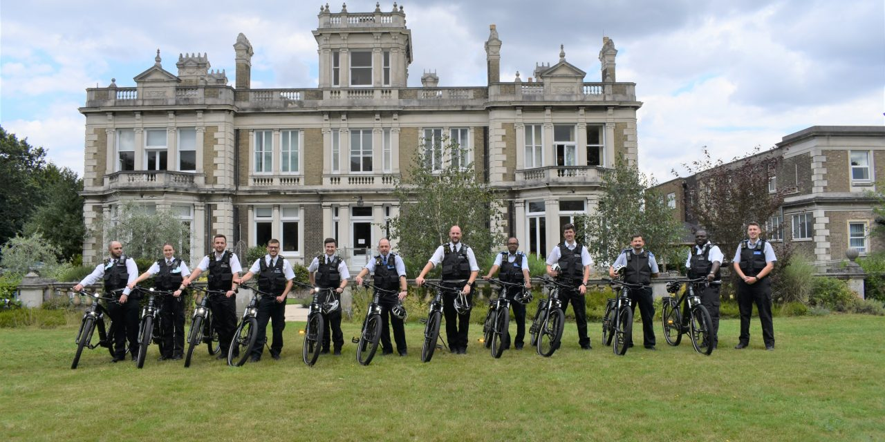 Electric bikes to patrol the beat