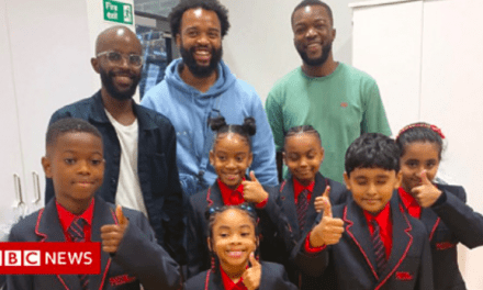 Rap artist donates free school uniforms